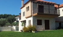 Detached Stone Houses For Sale on a Small Settlement in Rural Halkidiki