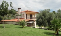 Group of Houses For Rent in a Lush Garden Setting in Halkidiki