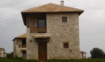 Uniquely Designed Complex of Stone Houses For Sale in Halkidiki