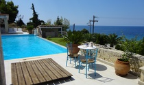 Prestige Villa For Sale, Overlooking Beach in Halkidiki