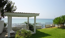 A Single Storey Property For Sale on the Kassandra Seafront